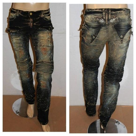 5c2b0704 Robin's Jean Jeans | New Robins Mens Slim Tintin Biker | Poshmark
